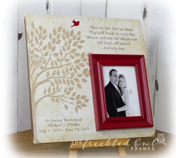 Memorial Gifts Memorial Picture Frame In Memory of Picture   Etsy