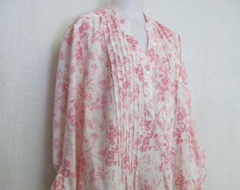 5e849d2ce81dcf Cotton Tunic Blouse Floral Cotton Eyelet Tunic Boho Blouse Plus Size