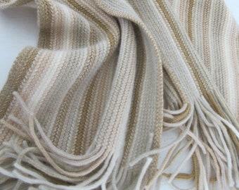 15eea2986510 Lainage écossais Echarpe silencieux châle laine franges