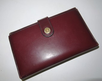 Genuine Leather Wallet buffered Leather Vegetable Tanned Made in Italy Cavalieri