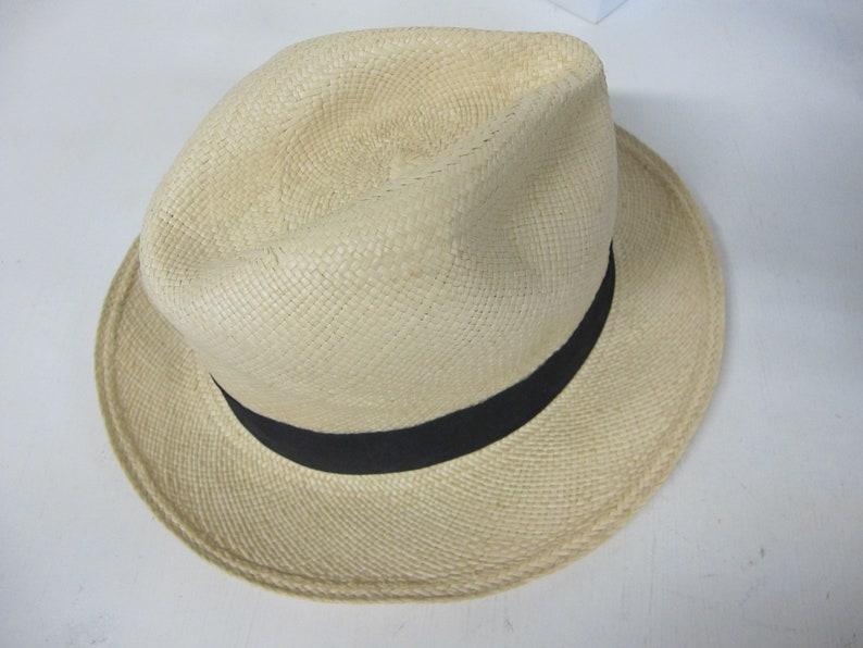 Panama Hat Fedora Ecuador Montecristi Straw Hat