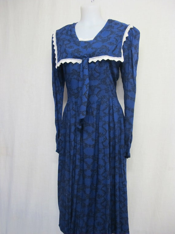 Gunne Sax Prairie Dress Steampunk Dress Pioneer