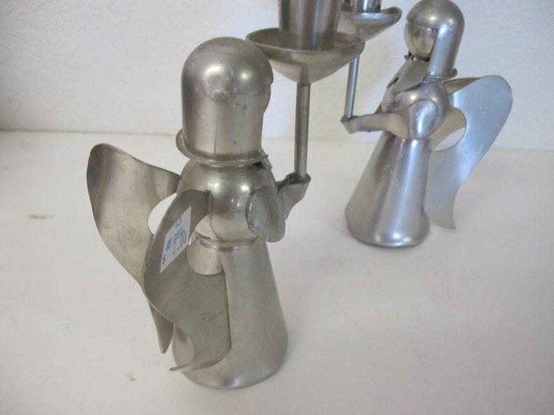 Pewter Candle Holders Christmas Candle Holders Pewter Christmas Angel TKF Pewter