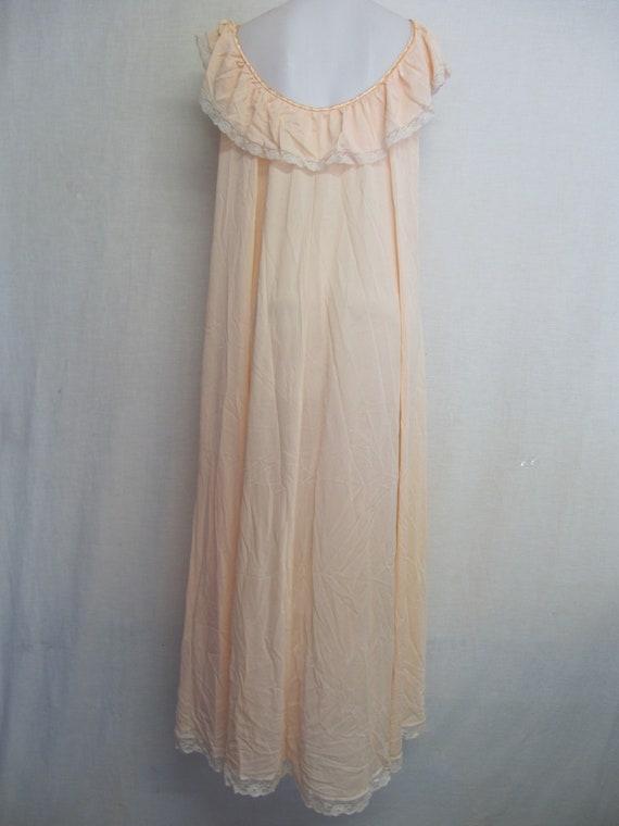 Mad Men Nightgown Claire Sandra Lucie Ann Blush P… - image 8