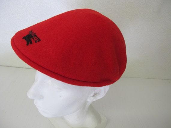 7f99c5b2913 Burberry Wool Cap Red Newsboy Cap Red Wool Cap Golf Cap Mod