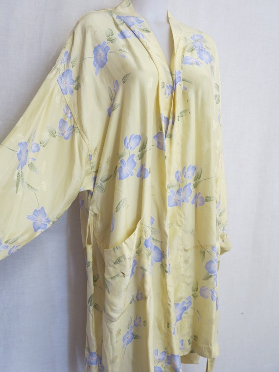 Silk Robe Dressing Gown Silk Kimono Robe Tommy Bah