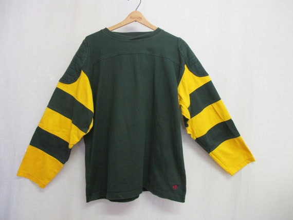 Rugby Shirt J Peterman Rugby Shirt Large Green
