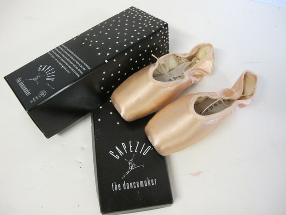 Ballet Slippers Vintage Satin Ballet Shoes CAPEZIO