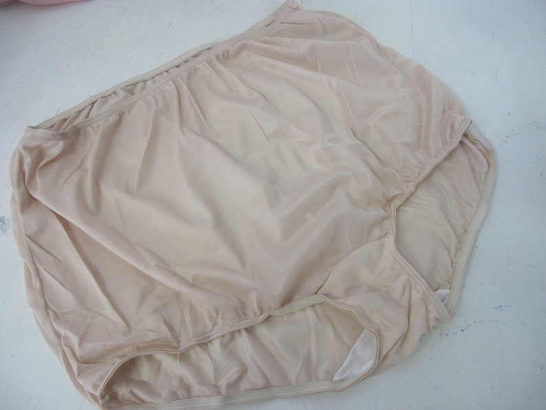 901e7ed6962 High waist Nylon panties Sears Nude Panties cotton crotch size