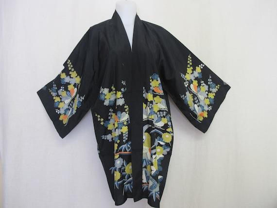 e6d04e9914 Kimono Jacket Short Kimono Robe Rayon Japanese Jacket Kimono