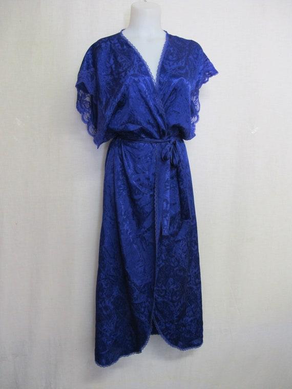 Lucie Ann Peignoir 1980's Sleeveless Negligee Pei… - image 4