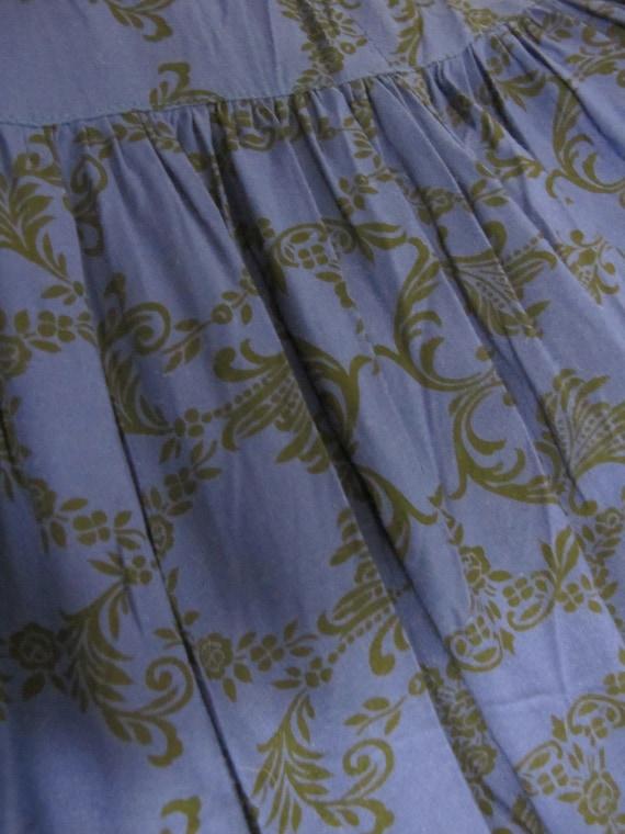 Gunne Sax Prairie Dress Steampunk Dress Pioneer - image 10