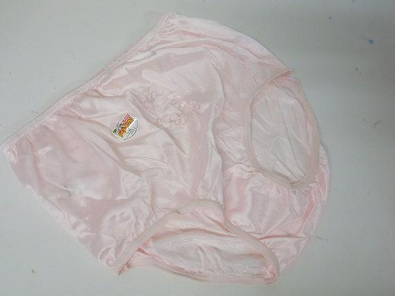 Nylon Pink Panties Mid Century Panties High Waist