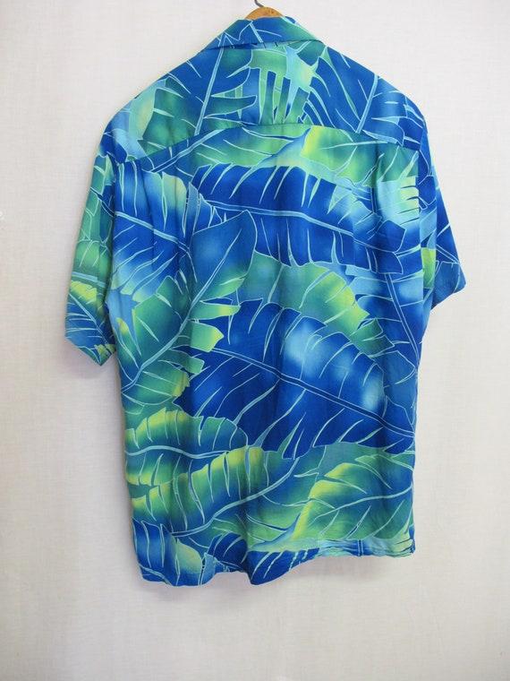 Hawaiian Shirt Skater 1980 Shirt Aloha Shirt Rayo… - image 5
