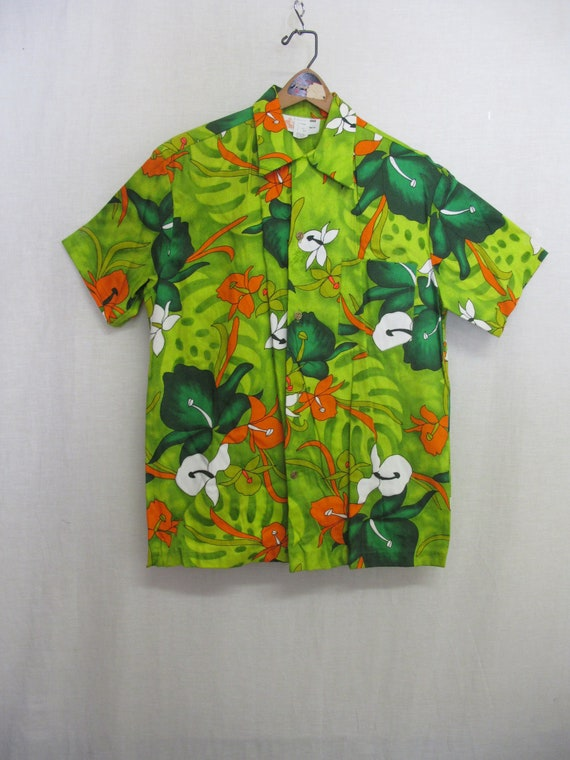 Hawaiian Bark cloth Shirt Royal Hawaiian XL NWOT H