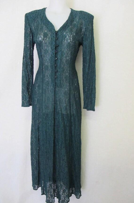 Goth Lace Dress Sexy Stretch Dress Special Occasio