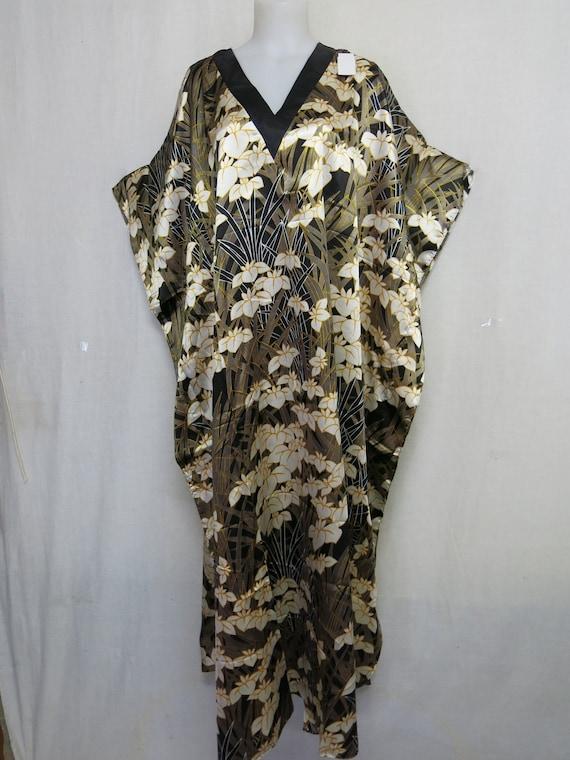 Kaftan Plus Size Lounge dress Boho Caftan Black Or