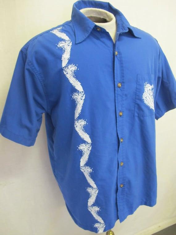 Surfer Shirt 1980 Retro Hawaiian Shirt Skater Shir