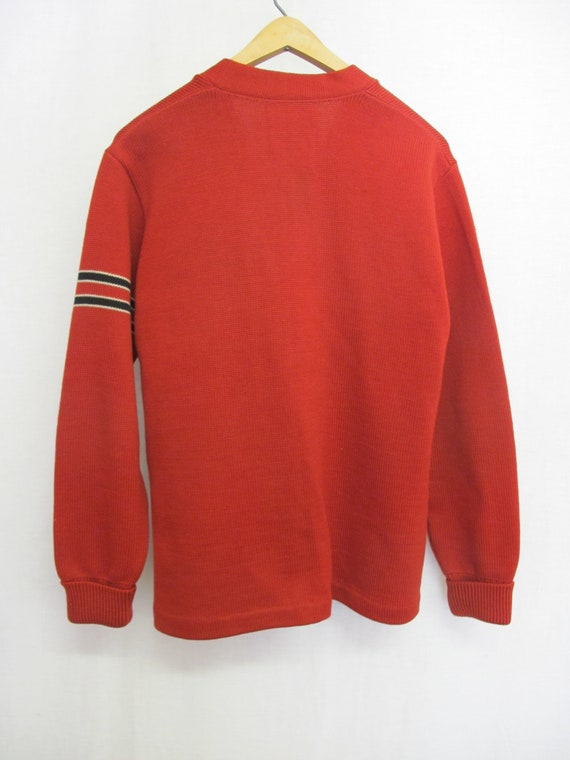 1950s Varsity Sweater Whiting Letterman Sweater R… - image 8
