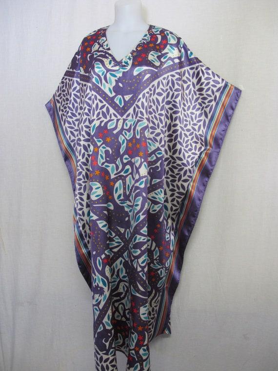 Plus Size Boho Caftan Loungewear House Dress
