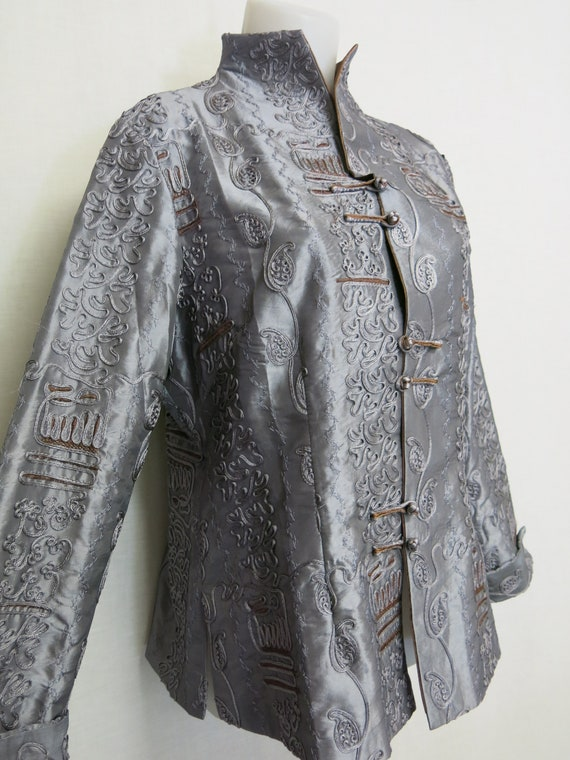 Chinese Silk Jacket Kimono Jacket Embroidered Jack