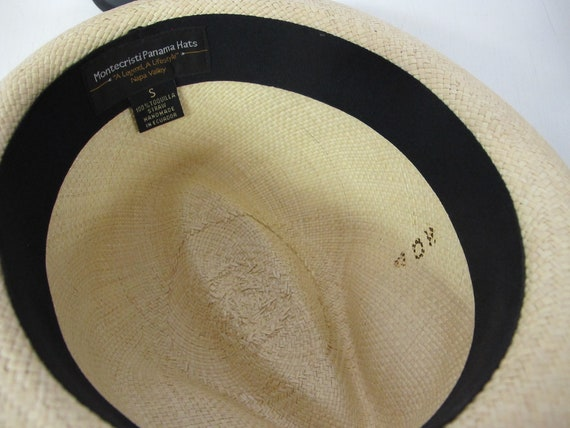 Panama Hat Ecuador Montecristi Straw Hat Resort S… - image 7