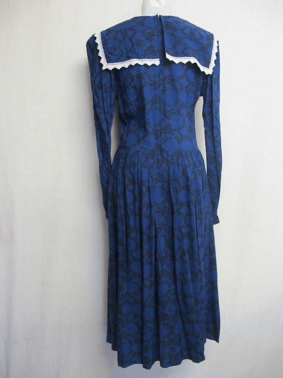 Gunne Sax Prairie Dress Steampunk Dress Pioneer - image 7