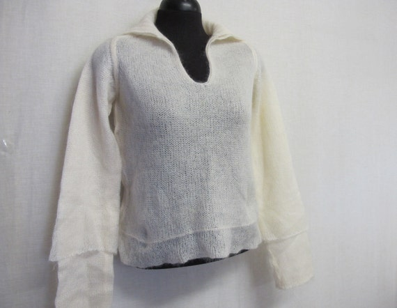 Mohair Sweater FENDI Italian Mohair  Sweater New