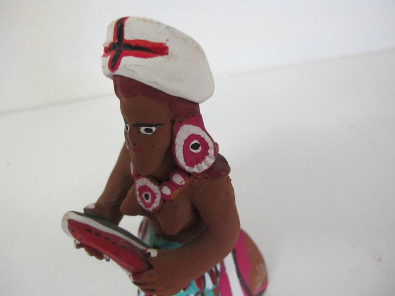 Mexican Pottery Figurine Artisan Artisan Pottery Mermaid