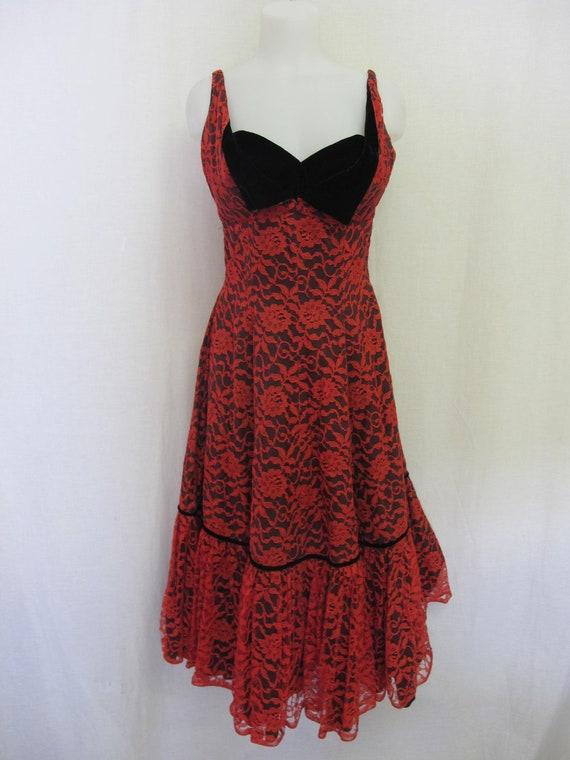 1950s Christmas Dress