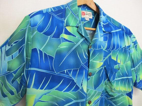 Hawaiian Shirt Skater 1980 Shirt Aloha Shirt Rayo… - image 2
