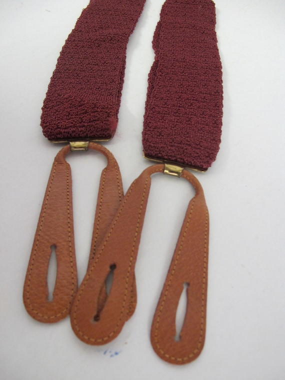 Antique Suspenders Stretch Suspenders 1930s Suspen
