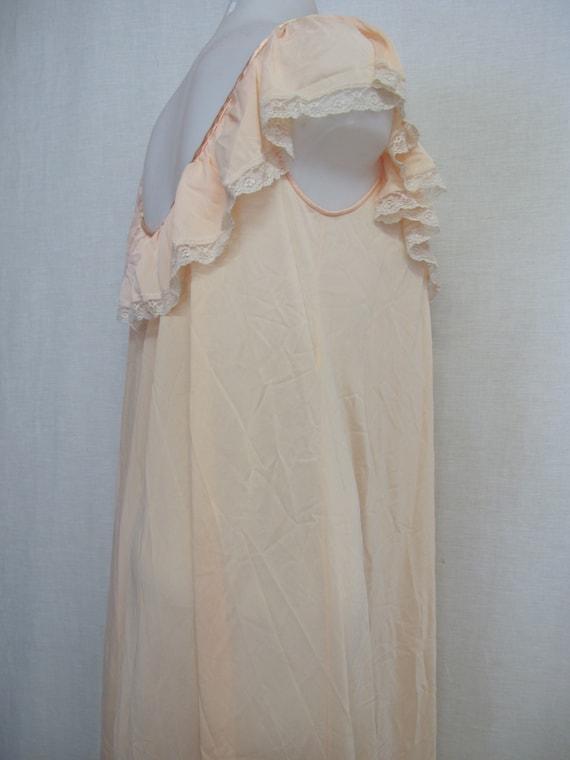 Mad Men Nightgown Claire Sandra Lucie Ann Blush P… - image 7