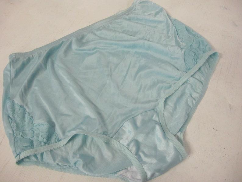 4a17abfb15c6 High waist Nylon panties Vanity Fair Blue Panties Nylon | Etsy