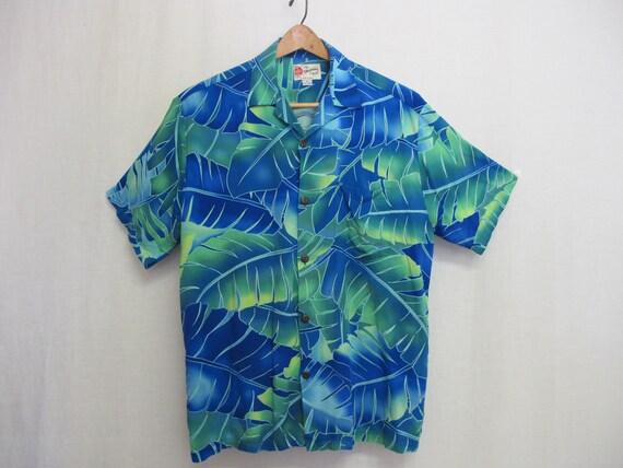 Hawaiian Shirt Skater 1980 Shirt Aloha Shirt Rayo… - image 7