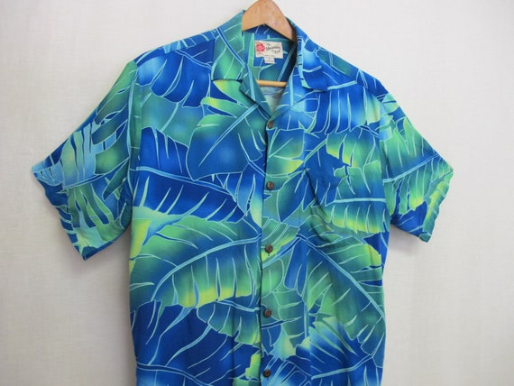 Hawaiian Shirt Skater 1980 Shirt Aloha Shirt Rayo… - image 1