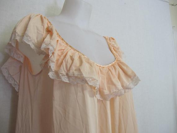 Mad Men Nightgown Claire Sandra Lucie Ann Blush P… - image 5