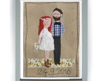 Stitched wedding picture as desired