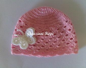 Pdf Uncinetto Pattern Cappellino Neonato Cappellino Coccinella Etsy