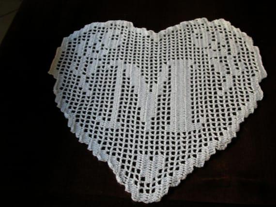 100% di alta qualità sempre popolare 100% genuino PATTERN crochet filet schema lettera M MONOGRAMMA | Etsy