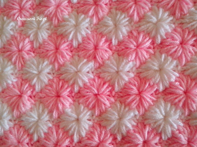 Crochet Baby Blanket Pattern Blanket Pattern Zig Zag Star Etsy