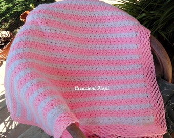 Crochet PATTERN  Blanket  Couch/ puff Star stitch/ Tutorial Instant Download / PATTERN 806/ Permission to sell finished items.