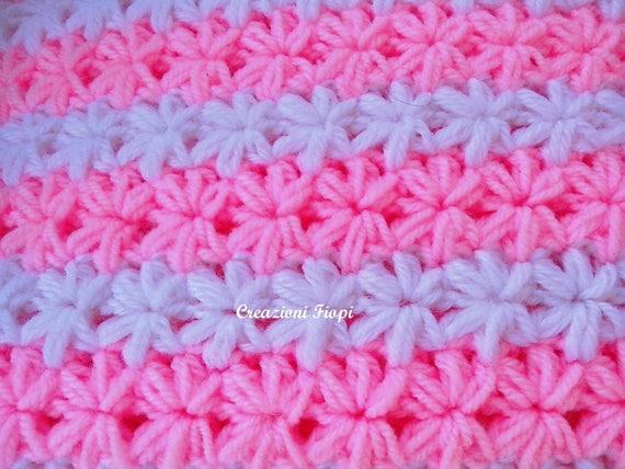 accogliente fresco nuovi prezzi più bassi dettagli per Offerta 4 SCHEMI UNCINETTO COPERTINE neonato:Crochet Pattern 808+Crochet  Pattern 141+Crochet Pattern 806+Crochet Pattern 809 set di 4 schemi