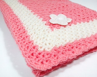 Crochet PATTERN Baby Blanket / point arches stitch / Tutorial Instant Download / PATTERN 301/ Permission to sell finished items.