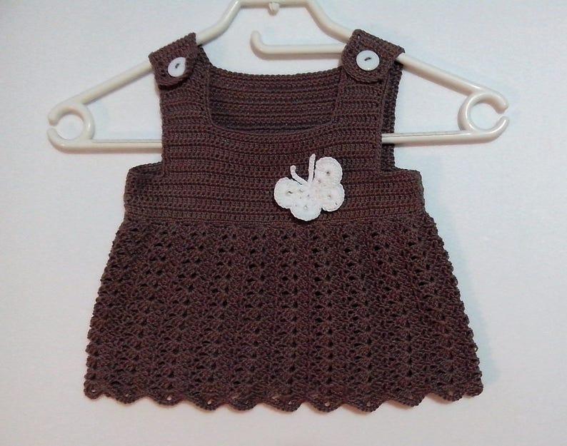Pattern Uncinetto Canotta Bambina Taglia 24 Mesi Mini Vestito Etsy