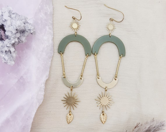 Green Thumb Earrings