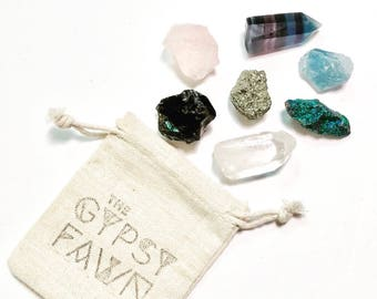Bag of Crystals / Choose Your Own / For the Everyday Modern and Magical Goddess