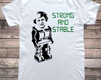 ebb50aa6 Theresa May Maybot Brexit T-Shirt