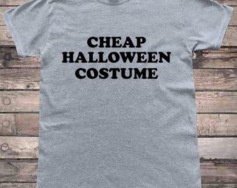 Cheap Halloween Costume Funny Halloween T-Shirt