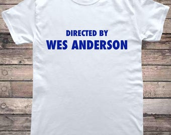 Wes Anderson Directed By Film T-Shirt